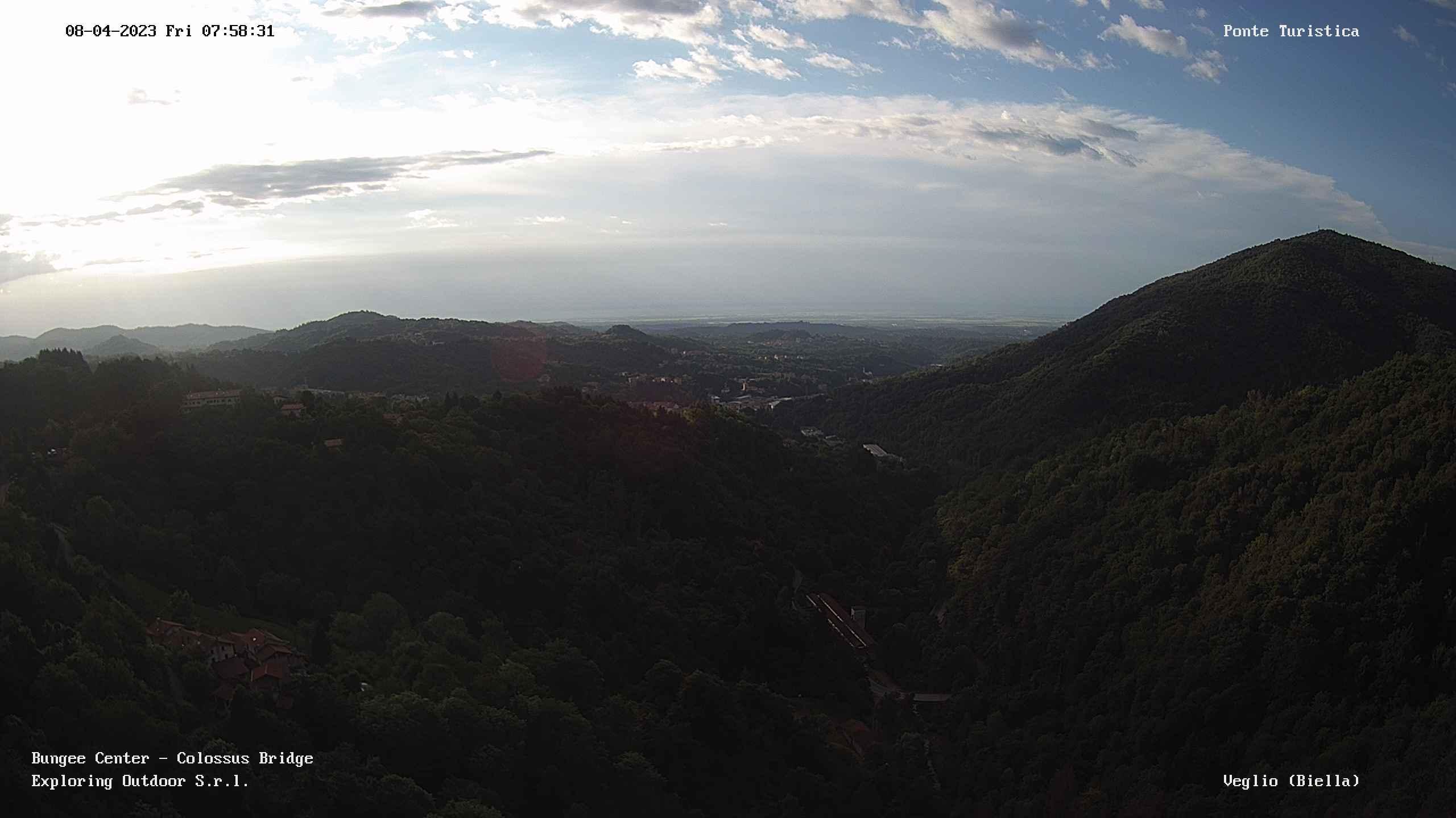 Il panorama dal Colossus sulla Valle